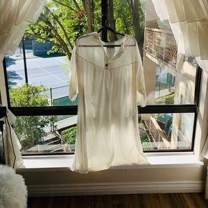 Zara Midi Dress in White